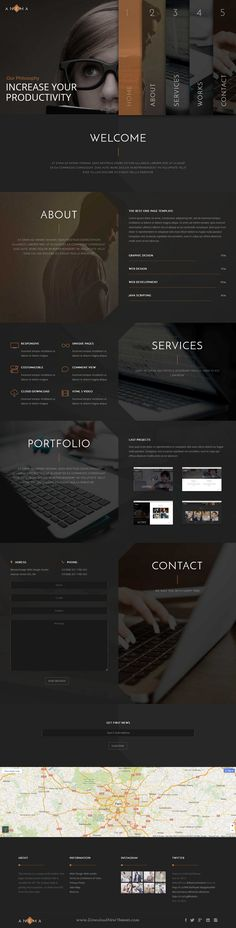 Anema — Responsive Multipurpose WordPress Theme for designers, photographers, illustrators, video producers or architects marvelous website