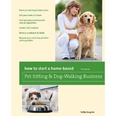 It used to be that there were only a small handful of books worth reading on how to start a pet sitting business. As the industry grows though, I'm glad to see that's changing. More and more owners of successful pet sitting & dog walking businesses are stepping up to offer great advice for people who want to start their own pet care business. How to Start a Home-Based Pet-Sitting and Dog-Walking Business is one of these books. - Read more at PetsitUSA . . .