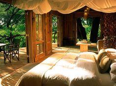 25.Lake Manyara Tree Lodge, Tanzania : Best Resorts & Safari Camps in Africa: Readers' Choice Awards : Condé Nast Traveler