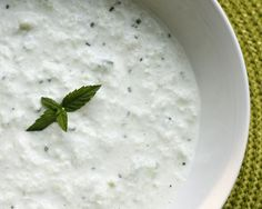 Skinny Tzatziki | Tzatziki is a classic Greek cucumber yogurt sauce or dip. It is served as a condiment on gyros, fish and souvlakis, and other Greek dishes or it is served as a dip with pita wedges.
