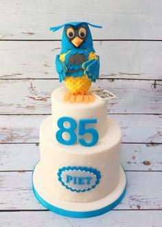 Meneer de Uil taart (Mister Owl cake)