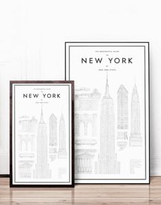 New York prints