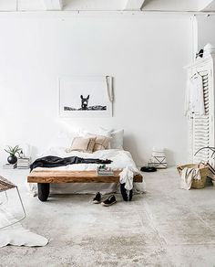Inspired by these bedrooms for spring. I love their simplicity, and clutter-free vibe.