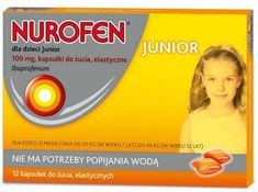 Nurofen for children Junior x 12 chewable capsules Steven Johnson Syndrome, Hypersensitivity Reactions, Headache And Dizziness, Nephrotic Syndrome, Urticaria, Lower Back Pain Relief, Asthma Symptoms