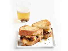 Grilled Ham, Cheese and Mushroom Sandwiches from FoodNetwork.com