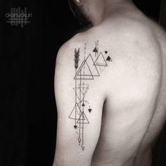 Geometric Tattoo by Okan Uckun