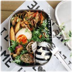 ONI MAMA's dish photo shooooco さんの料理 最初の一手間がポイントらしいです ソース焼そば で  お弁当 | http://snapdish.co #SnapDish #レシピ #お弁当 #BENTO世界グランプリ2016 #焼きそば