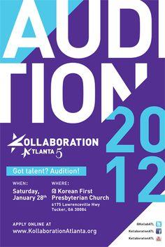 Kollaboration Atlanta 5 Auditions