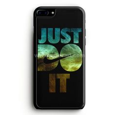 Nike Just Do It Cream Wood iPhone 7 Plus Case   aneend