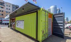 Quartyard Shipping Container Design