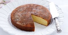 Easy to make and wonderfully soft, this spicy cinnamon teacake is a perfect tea-time treat.