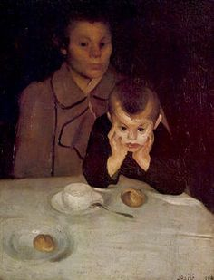 Josip Račić - Majka i dete