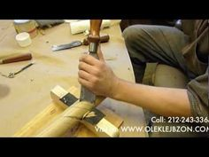 How To: Carve A Scallop Shell - YouTube