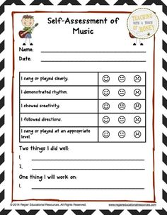 """$ Use these templates to help your students set goals in drama, music, visual arts, and dance! The """"Arts Ed Assessment and Goal Setting"""" package contains materials to support your students as they set goals related to arts education."""
