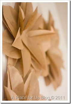 Love these paper flowers