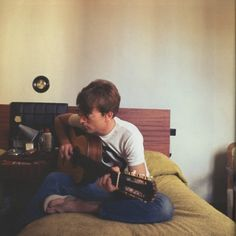 Lennon - a moment when one of the great musicians of our time is just a guy sitting on the bed with a guitar. Just like millions of us.