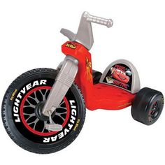 "Disney Licensed 16"" Cars Big Wheels Racer"