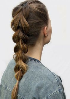 23 Elegant Konzepte Betreffend Haare Hochstecken Frisur The Fishtail . Pixie, Pull Through Braid, Hairspray, Fishtail, Elegant, Ponytail, Hair Makeup, Braids, Hair Beauty