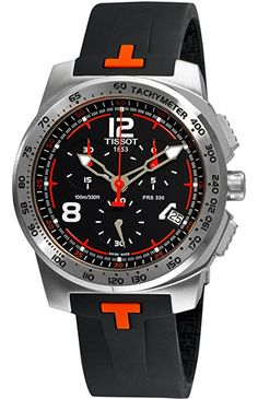 Tissot T0364171705701 - Reloj para hombres, correa de acero inoxidable