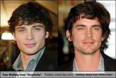 I never realized how much matt bomer and tom welling look alike!