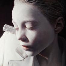 El rumor de los Inocentes 11 - 2009 - técnica mixta (aceite y acrílico sobre lienzo) - 160x121. Gottfried Helnwein.
