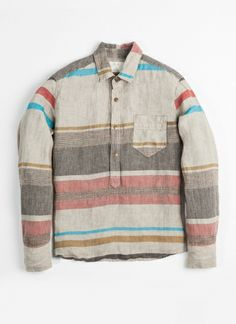 #BillyReid Brewton Popover Shirt available at #MPENNER