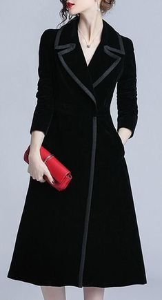 dress and coat outfit Abaya Fashion, Muslim Fashion, Fashion Dresses, Mode Adidas, Dress Outfits, Casual Dresses, Coats For Women, Clothes For Women, Stylish Coat