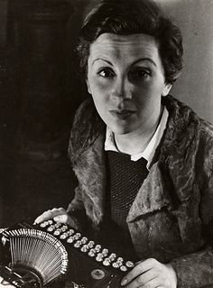 Gerda Taro. Photographe de guerre durant la guerre d'Espagne.