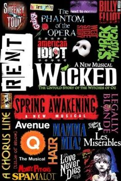 What is your favorite Musical (stage or screen) of all time? probably Les Miserables because it was the first musical that hooked me into Broadway. Broadway Plays, Broadway Theatre, Broadway Shows, Musicals Broadway, Chicago Musical Broadway, Broadway Party, Broadway Posters, Famous Musicals, Poster
