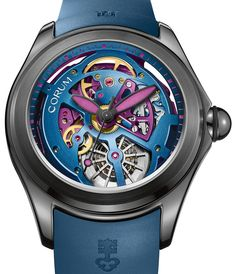 Corum Bubble 47 Squelette Watch In Bright Colors For 2017