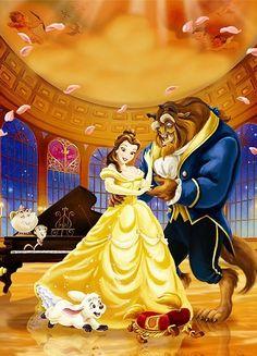 36 Trendy wedding couple cartoon beauty and the beast Walt Disney, Fera Disney, Disney Princess Belle, Disney Couples, Disney Girls, Disney Love, Disney Magic, Disney Pixar, Wedding Couple Cartoon