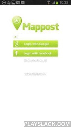 Mappost  Android App - playslack.com ,  Mappost is a task planning and route optimization system for field workers.Helps to know what, when and where needs to be done.Beta release. See more on http://mappost.euWe will be happy to get in touch via web contact form or email: mappost@mappost.euFeatures:• create and manage geo objects located on map (POIs)• see task assignments related to objects and planned routes• add photos of work done and change task statuses• communicate with other Mappost…