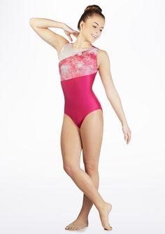 f8141852c9ffb Alegra Girls Flare Sleeveless Leotard - Move Dancewear® Kids Gymnastics,  Gymnastics Leotards, Young
