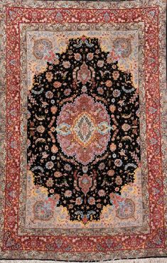 Fine Tabriz 'Part-Silk' Rug (50 RAJ),