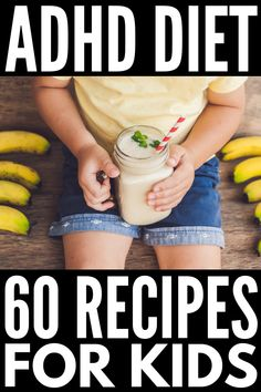 This collection of ADHD diet breakfast, lunch, dinner, snack, and dessert recipes is perfect for the whole family – even for picky eaters! Planning Menu, Planning Budget, Best Diet Plan, Healthy Diet Plans, Healthy Kids, Healthy Lunches, Healthy Food, Balanced Diet Plan, Adhd Diet