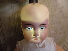 How to Look for Cracks in your head. Use a black light to illuminate flaws in the bisque. Old Dolls, That Look, Flaws, Leather, Antique Dolls