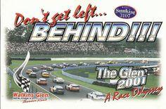 postcard - Watkins Glen International NY 2001 season schedule
