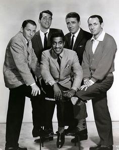The Rat Pack: best musicians of all time.