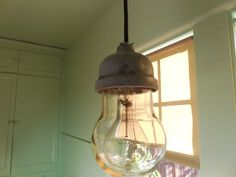 Vtg Industrial Light Explosion Proof Barn Crouse Hinds machine age ceiling by VINTAGEBARNLIGHTS on Etsy