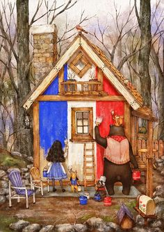 painting the house by Aeppol.