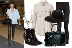 Lily Aldridge | Best Dressed Celebrities - How to Dress Like a Celebrity - ELLE