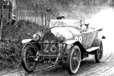 LE MANS 1923 - Bugatti Brescia 16S #28 -  Max de Pourtalés -  Sosthene de la Rochefaucauld