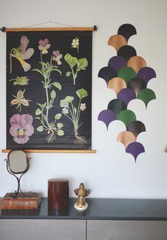 Ladda ner printar till denna väggdekoration / väggmosaik Free download Blogg: Hemma Med Helena