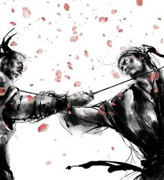 "The Samurai Bushido Code (Japanese ""way of the warrior"", or bushido), was the warrior code of the samurai. http://www.taringa.net/posts/imagenes/13303320/samurai-art_.html"