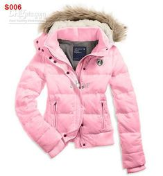 Wholesale New Women's AE Coat Jacket Winter parka Fur Hooded Down Hoodies Outerwear HOODED PUFFER Coat Jacket, Free shipping, $54.54/Piece | DHgate Mobile