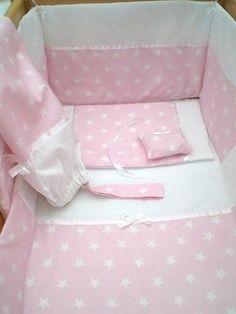 46f7fe4e4 Baby pink star set Pink Stars, Hanging Hearts, Cotton Fabric, Cotton Textile