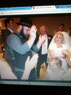 """Reception. Apparently it looks line a scene from """"Fiddler on the roof."""""""