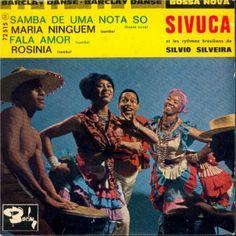 Sivuca Et Les Rythmes Brésiliens De Silvio Silveira - Samba De Uma Nota So / Maria Ninguem / Fala Amor / Rosina (Vinyl) at Discogs