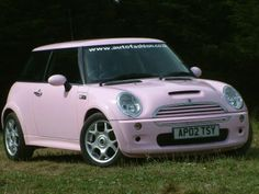 So want a pink car