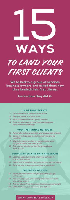 We invited business owners to share how they found their first clients in this tell all post. From family to Facebook groups to friends from first grade, these stories of how to find clients will help you get inspired. Click through to read the full post.